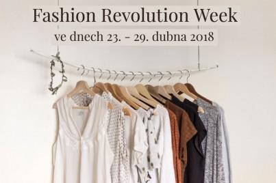 Fashion Revolution Week 23. - 29. dubna 2018