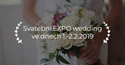 Svatební EXPO wedding 2019 již brzy!