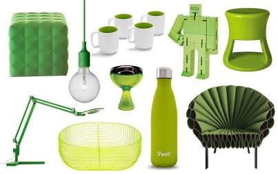 Svěží zelená pro rok 2017